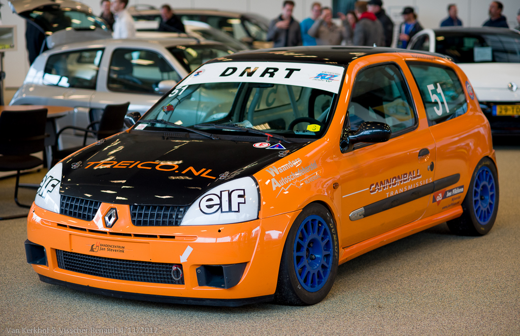 Clio cup Kool Autosport Renault Meeting